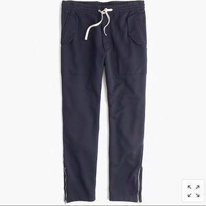 J.crew Military Sweatpants Mens Size S Navy Blue